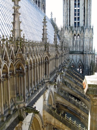 Gothic Church Flying Buttress Reims Cathedral Top6 JpgGothic