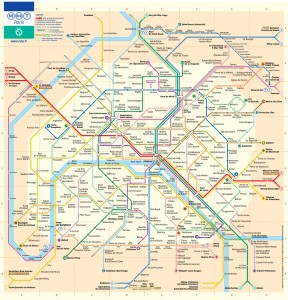 Maps Of France France Travel Info - Map of paris arrondissements with metro