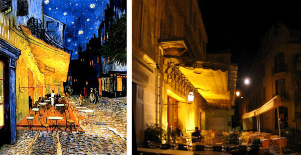 """analysis of van gogh s night cafe Van gogh's """"the night café,"""" was painted in response to sigmund freud's discovery of psychoanalysis it was painted in september of 1888 in arles, france as if the viewer was upon ."""